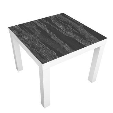 Carta adesiva per mobili IKEA - Lack Tavolino No.MW20 living forest anthracite gray