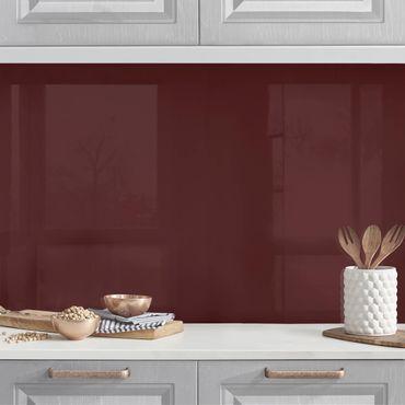 Rivestimento cucina - Color borgogna