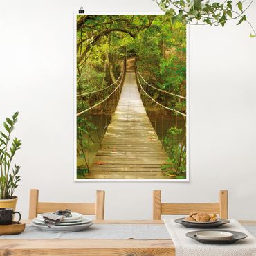 Poster - Jungle Ponte - Verticale 3:2
