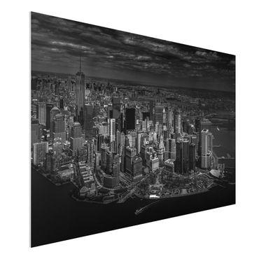 Quadro in forex - New York - Manhattan da The Air - Orizzontale 3:2