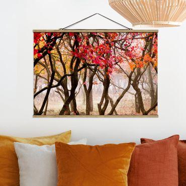 Foto su tessuto da parete con bastone - Giappone In autunno - Orizzontale 2:3
