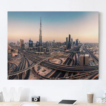 Stampa su tela - Serata A Dubai - Orizzontale 4:3