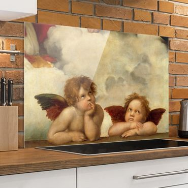 Paraschizzi in vetro - Raphael - Two Angels