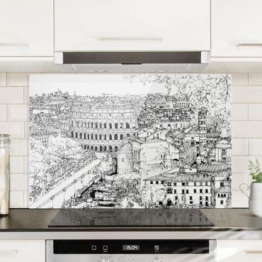 Paraschizzi in vetro - City Study - Rome