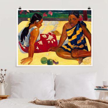 Poster - Paul Gauguin - le donne di Tahiti - Orizzontale 3:4