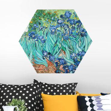 Esagono in Alu-dibond - Vincent Van Gogh -