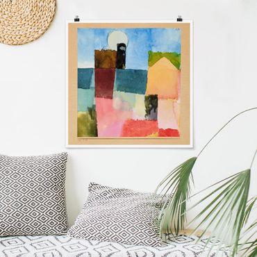 Poster - Paul Klee - Moonrise - Quadrato 1:1