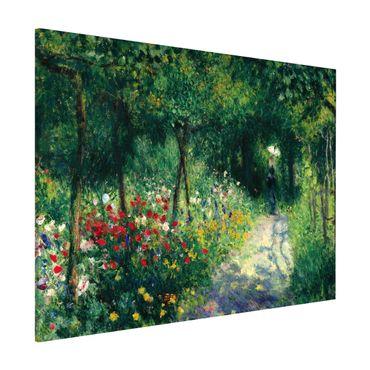 Lavagna magnetica - Auguste Renoir - Women In The Garden - Formato orizzontale 3:4
