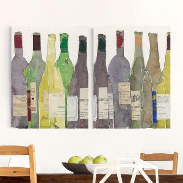 Stampa su tela - Wine & Spirits Set II - Verticale 4:3