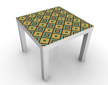Tavolino design Colorful Mosaic Tiled Pattern