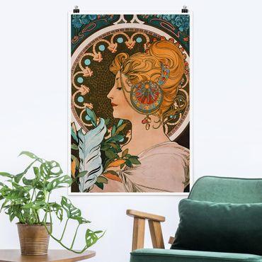 Poster - Alfons Mucha - Primavera - Verticale 3:2