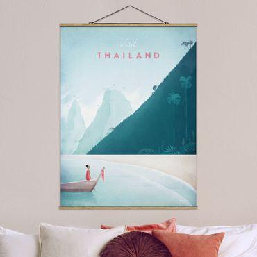 Foto su tessuto da parete con bastone - Poster Viaggio - Thailandia - Verticale 4:3