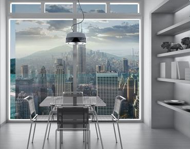 XXL Pellicola per vetri - Sunrise In New York