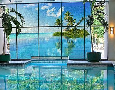 XXL Pellicola per vetri - Tropical Paradise