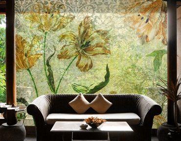 XXL Pellicola per vetri - Vintage Grasses