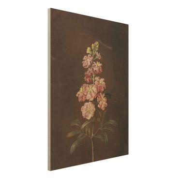 Stampa su legno - Barbara Regina Dietzsch - Un Pink Garden Levkkoje - Verticale 4:3