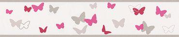Carta da parati - Esprit Esprit Kids 5 Sweet Butterfly in Multicolore Rosso Bianco