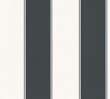 Carta da parati - Michalsky Living High Rise in Nero Bianco