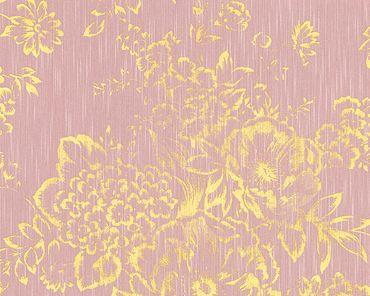 Carta da parati - Architects Paper Metallic Silk in Rosa Metalizzato