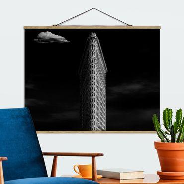 Foto su tessuto da parete con bastone - Flatiron Building - Orizzontale 3:4