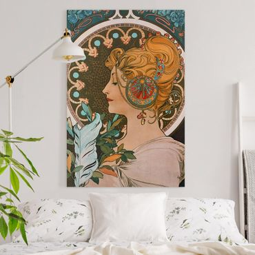 Quadri su tela - Alfons Mucha - Primavera