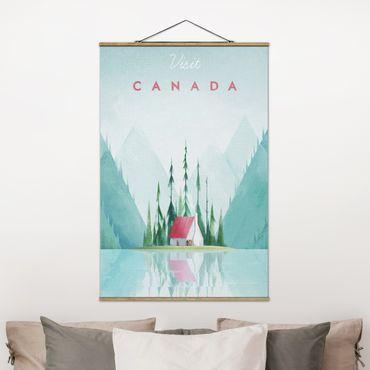 Foto su tessuto da parete con bastone - Poster di viaggio - Canada - Verticale 3:2