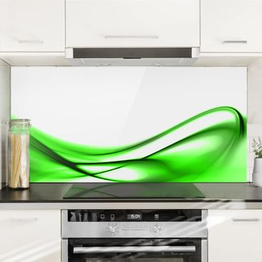 Paraschizzi in vetro - Green Touch