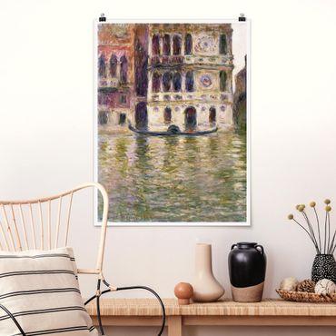 Poster - Claude Monet - Palazzo Dario - Verticale 4:3