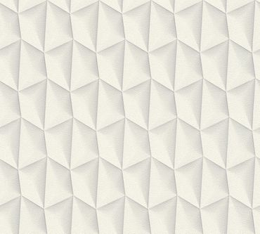 Carta da parati - Livingwalls Harmony in Motion by Mac Stopa in Crema Grigio Bianco