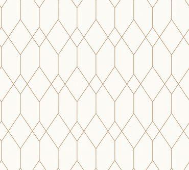 Carta da parati - Esprit Esprit 12 Eco of Nature in Metalizzato Bianco