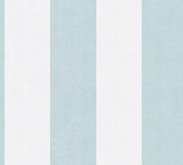 Carta da parati - A.S. Création Memory 3 in Blu Crema