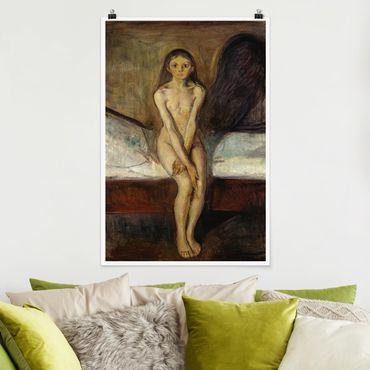 Poster - Edvard Munch - Pubertà - Verticale 3:2