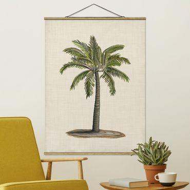 Foto su tessuto da parete con bastone - Britannico Palms I - Verticale 4:3
