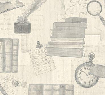 Carta da parati - A.S. Création Simply Decor in Grigio