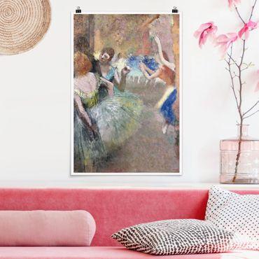 Poster - Edgar Degas - Scene Ballet - Verticale 3:2