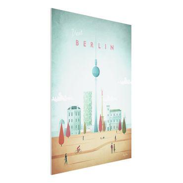 Stampa su Forex - Poster viaggio - Berlino - Verticale 4:3