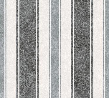 Carta da parati - Livingwalls Jette 4 in Grigio Metalizzato Nero