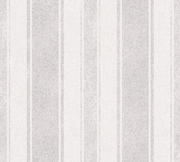 Carta da parati - Livingwalls Jette 4 in Marrone Grigio Metalizzato