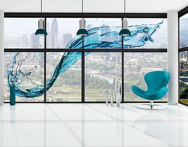 XXL Pellicola per vetri - Running Water