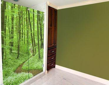 XXL Pellicola per vetri - Romantic Forest Track