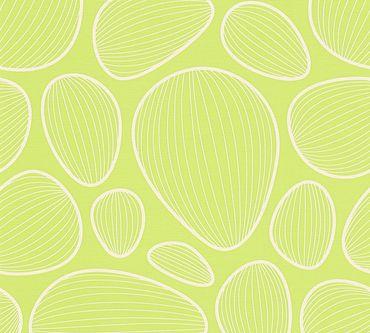 Carta da parati - Lars Contzen Artist Edition No. 1 Vilde Strand in Verde Bianco