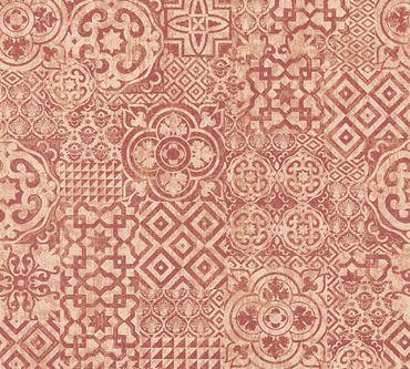 Carta da parati - A.S. Création Happy Spring in Giallo Rosso