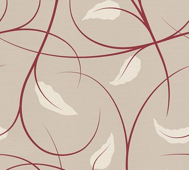 Carta da parati - Lars Contzen Artist Edition No. 1 Elegance in Greenhouse in Beige Crema Rosso