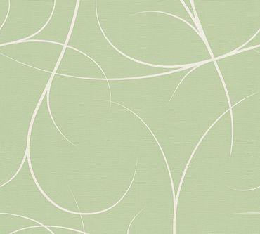 Carta da parati - Lars Contzen Artist Edition No. 1 Elegance in Greenhouse in Verde Bianco