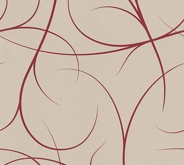Carta da parati - Lars Contzen Artist Edition No. 1 Elegance in Greenhouse in Beige Rosso