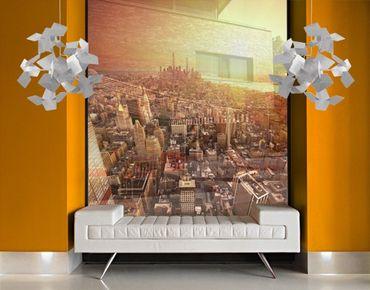 XXL Pellicola per vetri - Golden City