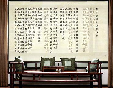 XXL Pellicola per vetri -  no.CG195 Asian Way Of Life