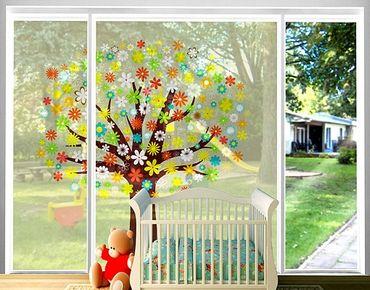 XXL Pellicola per vetri - Dream Tree