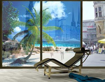 XXL Pellicola per vetri - Dreamy Beach