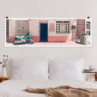 Poster - Minimarket Vintage - Panorama formato orizzontale